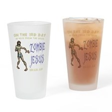 zombie-jesus-DKT Drinking Glass