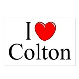 """I Love Colton"" Postcards (Package of 8)"