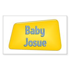 Baby Josue Rectangle Decal