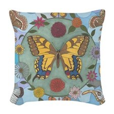 Delicate Beauty Woven Throw Pillow