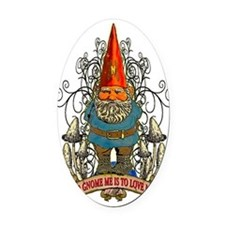GNOME_4x6_apparel Oval Car Magnet