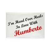In Love with Humberto Rectangle Magnet