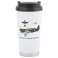 P-40_Co-Pilot_Front Ceramic Travel Mug