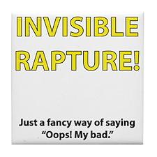 InvisibleRapture01 Tile Coaster