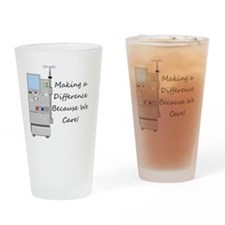 Dialysis 3 Drinking Glass
