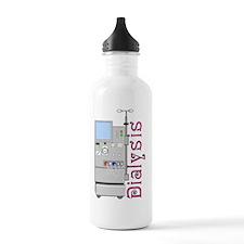 Dialysis 2 Pink Water Bottle