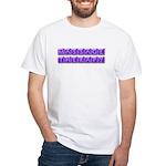 Purple Massage Therapy White T-Shirt