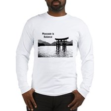 Massage is Balance Long Sleeve T-Shirt