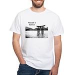 Massage is Balance White T-Shirt