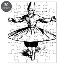 whirling dervish in action Puzzle