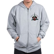 Star Trek KLINGON EMPIRE Zip Hoodie
