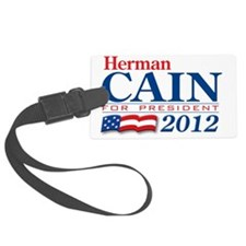 Herman-Cain2012 Luggage Tag