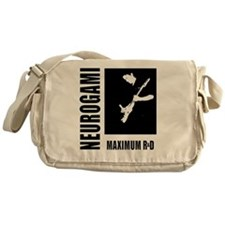 maximum-r+d_b+w-boxed Messenger Bag