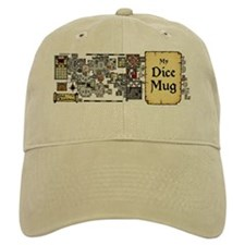 My Dice Mug - Dungeon Map Design Baseball Cap