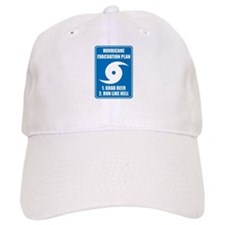 Hurricane Evacuation Plan Baseball Baseball Cap