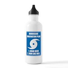 Hurricane Evacuation Plan Water Bottle