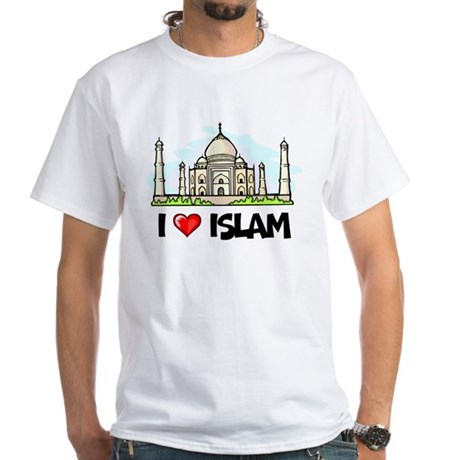 I Love Islam White T-Shirt