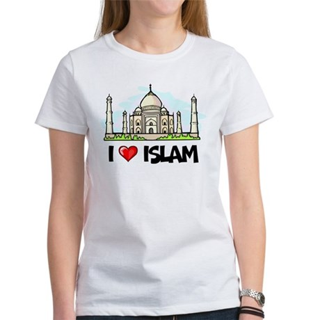 I Love Islam Women's T-Shirt