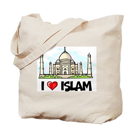 I Love Islam Tote Bag