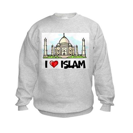 I Love Islam Kids Sweatshirt