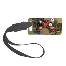 Dice and RPG dungeon map Luggage Tag