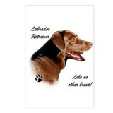 Lab Breed Postcards (Package of 8)