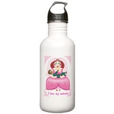 i love my husband Water Bottle