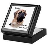 Mastiff Breed Keepsake Box