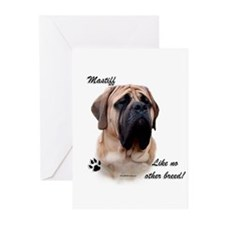 Mastiff Breed Greeting Cards (Pk of 10)