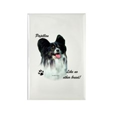 Papillon Breed Rectangle Magnet