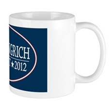 5x3oval_newt_gingrich_2012 Small Mug