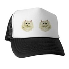 Chinchilla Persian Mug Trucker Hat