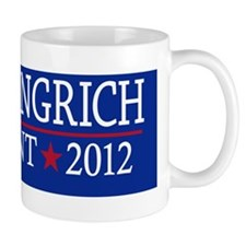 10x3_sticker_newt_gingrich_01 Mug