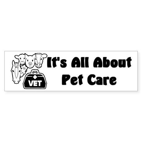 Veterinarian Bumper Sticker