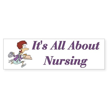 Nurse Bumper Sticker