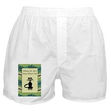 cat_fathers_day_card Boxer Shorts