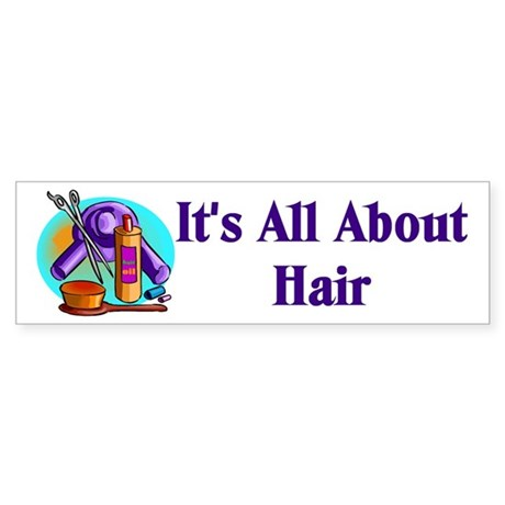 Beautician, Hairstylist Bumper Sticker