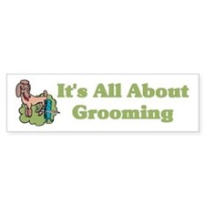 Animal Pet Groomer Bumper Bumper Sticker