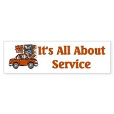 Food Service Worker Bumper Bumper Sticker