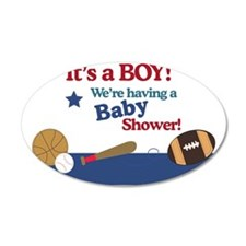 Its a Boy Sports All Star Ba Wall Decal