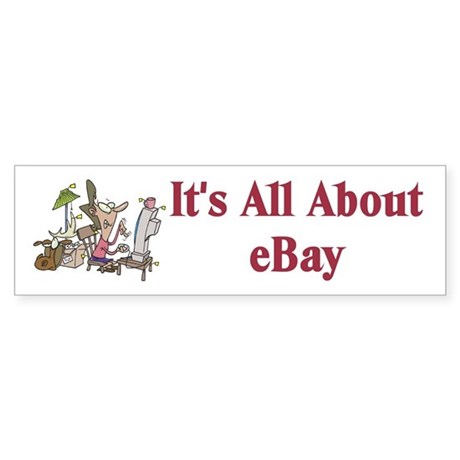 eBay Bumper Sticker