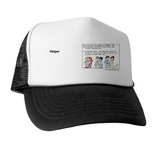 2-HelpersIncText Trucker Hat