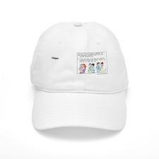 2-HelpersIncText Baseball Cap