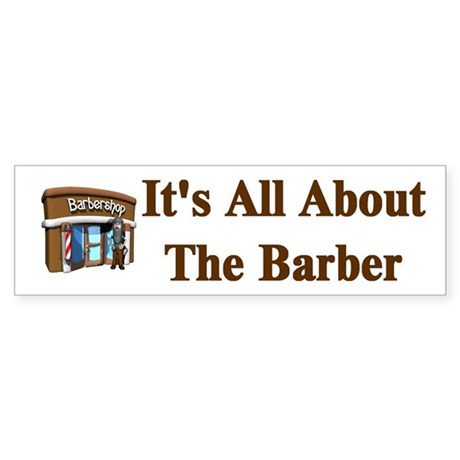 Barber Bumper Sticker