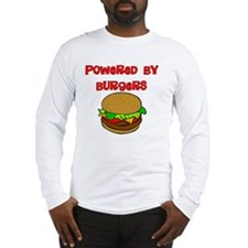 Powered by Burgers Long Sleeve T-Shirt