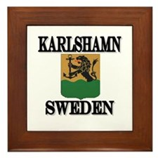 The Karlshamn Store Framed Tile