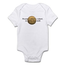 Unique Funny pluto Infant Bodysuit