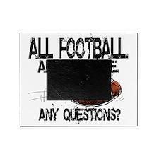 1FootballBack Picture Frame
