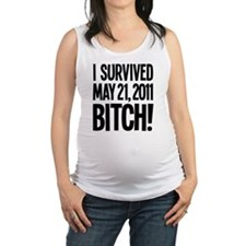 survived may 21 Maternity Tank Top