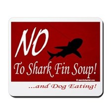 no-shark-fin-soup3 Mousepad